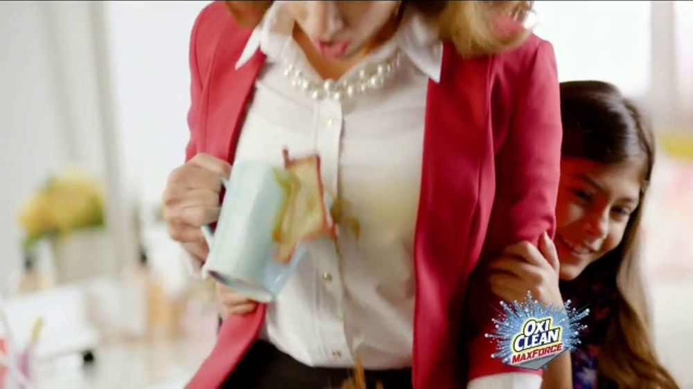 OxiClean Max Force TV Commercial, 'Tipos de manchas'