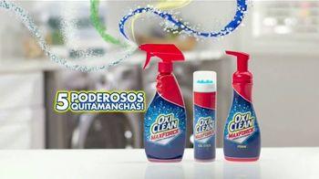 OxiClean Max Force TV Spot, 'Tipos de manchas' [Spanish] - Thumbnail 4