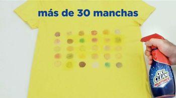 OxiClean Max Force TV Spot, 'Tipos de manchas' [Spanish] - Thumbnail 6
