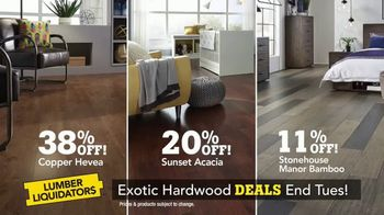 Lumber Liquidators TV Spot, 'Exotic Hardwood Deals'