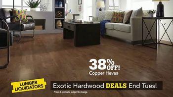 Lumber Liquidators TV Spot, 'Exotic Hardwood Deals' - Thumbnail 2