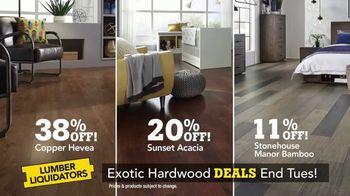 Lumber Liquidators TV Spot, 'Exotic Hardwood Deals' - Thumbnail 4