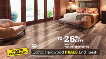 Lumber Liquidators TV Spot, 'Exotic Hardwood Deals' - Thumbnail 5