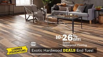 Lumber Liquidators TV Spot, 'Exotic Hardwood Deals' - Thumbnail 6