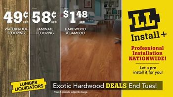 Lumber Liquidators TV Spot, 'Exotic Hardwood Deals' - Thumbnail 7