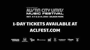 2018 ACL Fest TV Spot, 'McCartney, Metallica and Childish Gambino' - Thumbnail 7