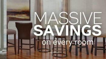 Ashley HomeStore Annual Tent Blowout TV Spot, 'Massive Savings' - Thumbnail 4