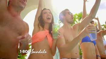 Sandals Resorts TV Spot, 'Live It Up'