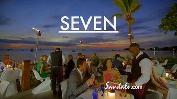 Sandals Resorts TV Spot, 'Live It Up' - Thumbnail 8