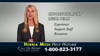 Kaplan Gore LLP TV Spot, 'Hernia Mesh Help Hotline' - Thumbnail 10