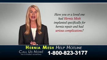Kaplan Gore LLP TV Spot, 'Hernia Mesh Help Hotline' - Thumbnail 2