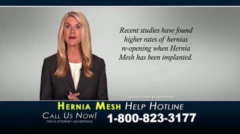 Kaplan Gore LLP TV Spot, 'Hernia Mesh Help Hotline' - Thumbnail 6