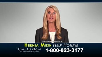 Kaplan Gore LLP TV Spot, 'Hernia Mesh Help Hotline' - Thumbnail 7