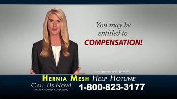 Kaplan Gore LLP TV Spot, 'Hernia Mesh Help Hotline' - Thumbnail 9