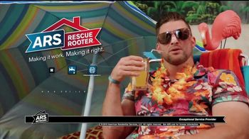 ARS Rescue Rooter TV Spot, 'Tim Tebow Has Found His Cool' - Thumbnail 9
