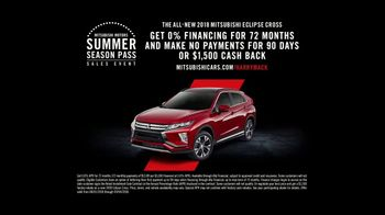 Mitsubishi Summer Season Pass Sales Event TV Spot, 'Freestyle Test Drive: On the Road' [T2] - Thumbnail 9