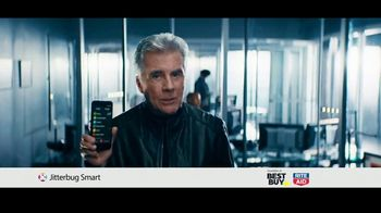 GreatCall Jitterbug Smart TV Spot, 'Help From Mom' Featuring John Walsh