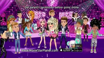 MovieStarPlanet.com TV Spot, 'Chat, Have Fun and Be a Star' - Thumbnail 9
