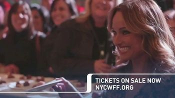 2018 New York City Wine & Food Festival TV Spot, 'Join Us'