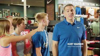 Dick's Sporting Goods TV Spot, 'Back to School Selection' Feat. Kurt Warner