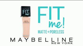 Maybelline Fit Me! Poreless Foundation TV Spot, 'Fit para todas' [Spanish] - Thumbnail 2