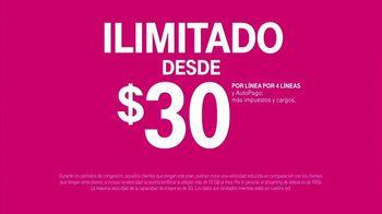 T-Mobile Unlimited TV Spot, 'Para todos' [Spanish] - Thumbnail 7