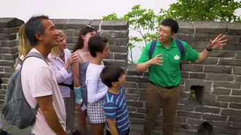 Adventures by Disney TV Spot, 'Peyton Elizabeth Lee at the Great Wall' - Thumbnail 6