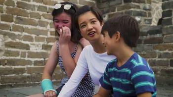 Adventures by Disney TV Spot, 'Peyton Elizabeth Lee at the Great Wall' - Thumbnail 9