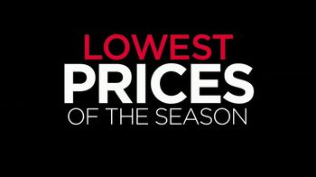 Lowest Prices of the Season: It's Here!