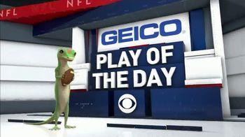 GEICO TV Spot, 'CBS Sports: Play of the Day: Leap of Faith' - Thumbnail 9