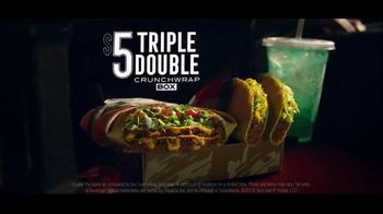 Taco Bell Triple Double Crunchwrap Box TV Spot, 'Movie Theater' - Thumbnail 10