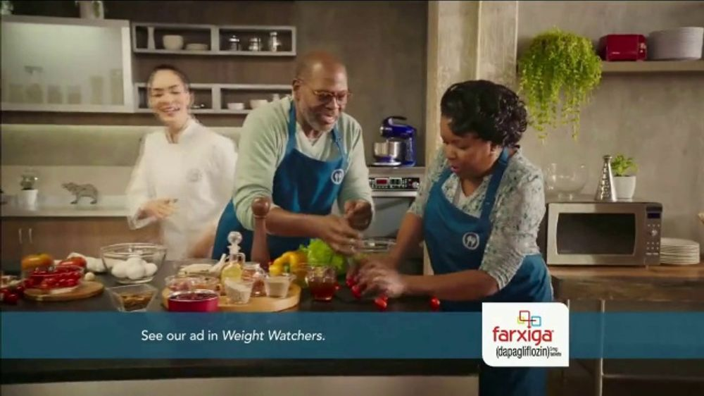 Farxiga TV Commercial, 'Food, Family, Farxiga'