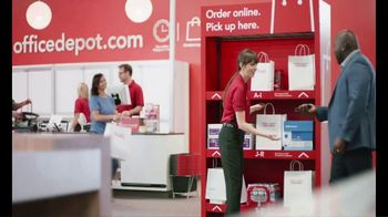 Office Depot OfficeMax 1-Hour In-Store Pickup TV Spot, 'For the Team' - Thumbnail 2