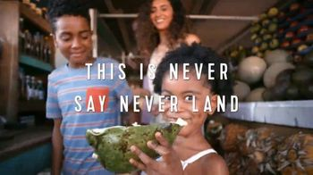 Royal Caribbean Cruise Lines TV Spot, 'Never Say Never Land: Play Hard'