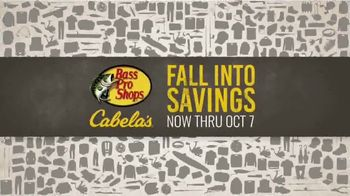 Bass Pro Shops Fall Into Savings TV Spot, 'Fall Gear' - Thumbnail 2