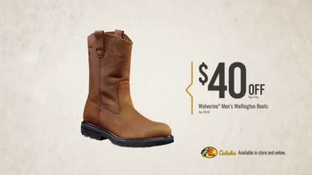 Bass Pro Shops Fall Into Savings TV Spot, 'Wolverine Boots' - Thumbnail 5