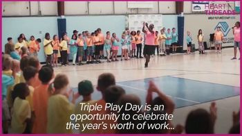 Boys & Girls Clubs of America TV Spot, 'Heart Threads: Triple Play Day' - Thumbnail 3