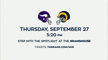 Los Angeles Rams TV Spot, '2018 Rams vs. Vikings' - Thumbnail 10