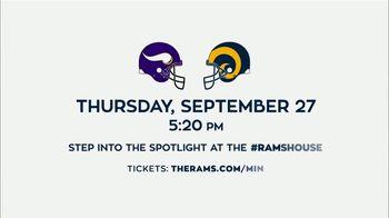 Los Angeles Rams TV Spot, '2018 Rams vs. Vikings' - Thumbnail 9