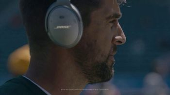Bose Noise Cancelling TV Spot, 'Focus. On.' Featuring Aaron Rodgers - Thumbnail 3