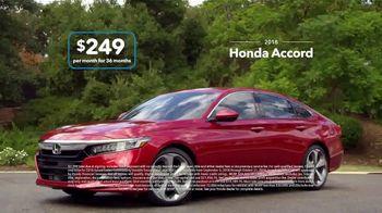 2018 Honda Accord TV Spot, 'Dramatic: $249 Offer' [T2] - Thumbnail 5