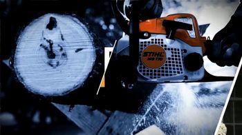 STIHL TV Spot, 'Jen and Justin: Blower and Chain Saw' - Thumbnail 3