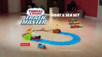 Thomas & Friends TrackMaster Boat and Sea Set TV Spot, 'Off the Tracks' - Thumbnail 9