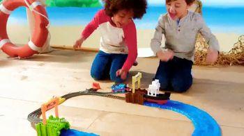 Thomas & Friends TrackMaster Boat and Sea Set TV Spot, 'Off the Tracks' - Thumbnail 2
