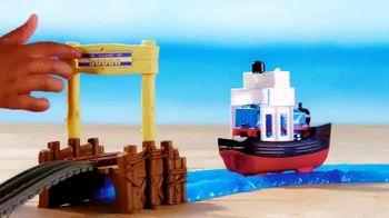 Thomas & Friends TrackMaster Boat and Sea Set TV Spot, 'Off the Tracks' - Thumbnail 3