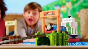 Thomas & Friends TrackMaster Boat and Sea Set TV Spot, 'Off the Tracks' - Thumbnail 5
