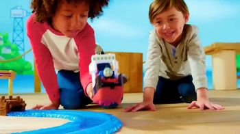 Thomas & Friends TrackMaster Boat and Sea Set TV Spot, 'Off the Tracks' - Thumbnail 6