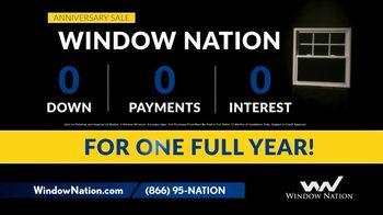 Window Nation Anniversary Sale TV Spot, 'Zero Down, Zero Payments' - Thumbnail 3