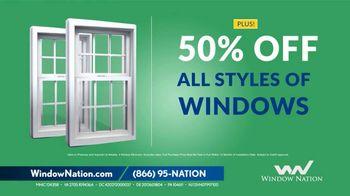 Window Nation Anniversary Sale TV Spot, 'Zero Down, Zero Payments' - Thumbnail 4