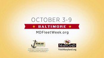 Visit Maryland TV Spot, '2018 Maryland Fleet Week & Air Show Baltimore' - Thumbnail 8